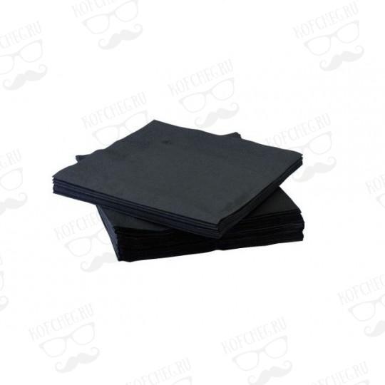 Салфетки (бумажные) черные 400 шт.