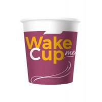 Стакан бумажный одноразовый Wake Me Cup 100 мл
