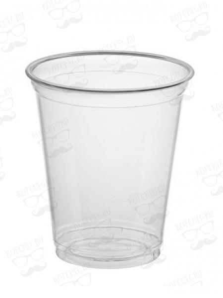 Стакан прозрачный пластиковый 400 мл