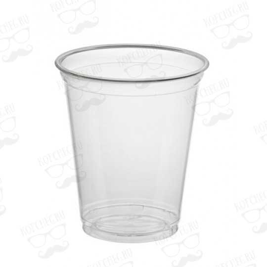 Стакан PULSAR прозрачный пластиковый 400 мл