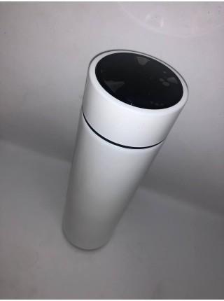 Термос металлический с датчиком температуры премиум, 420 мл
