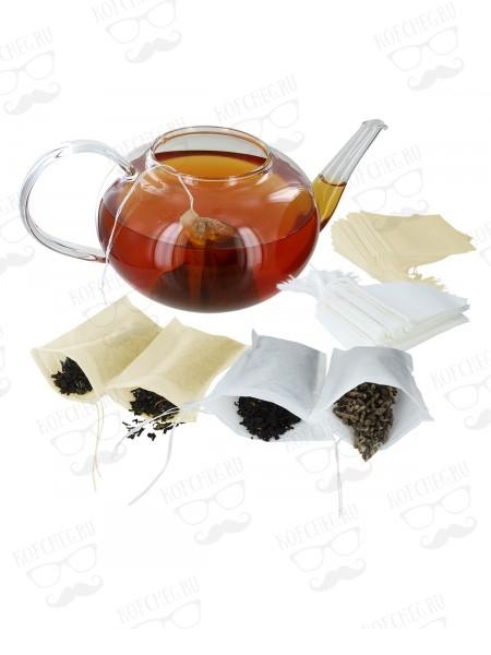 Фильтр-пакеты для чая на одну чашку, 100 шт.