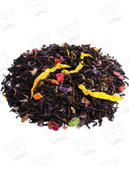 Бархатный вечер Чай на основе черного