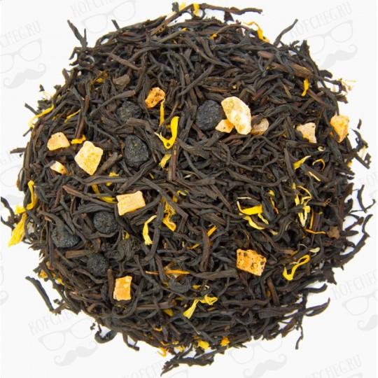 Сочный персик Чай на основе черного