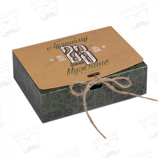 """Подарочный набор 3 вида чая """"На 23 февраля"""" мини"""