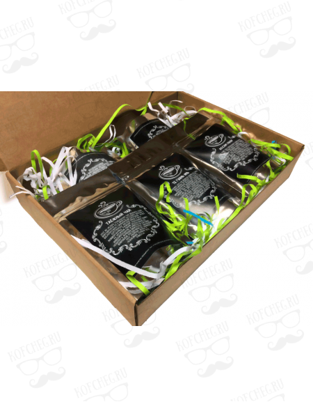 Подарочный набор 5 видов чая