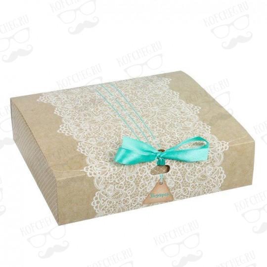 """Подарочный набор 3 вида чая """"Ажур"""" мини"""