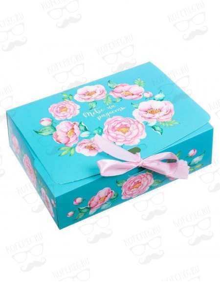 """Коробка  """"Цветы"""""""