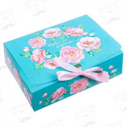 """Подарочный набор 3 вида чая """"Цветы"""" мини"""
