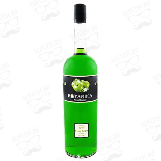 Сироп Ботаника Зеленое Яблоко 1 л.