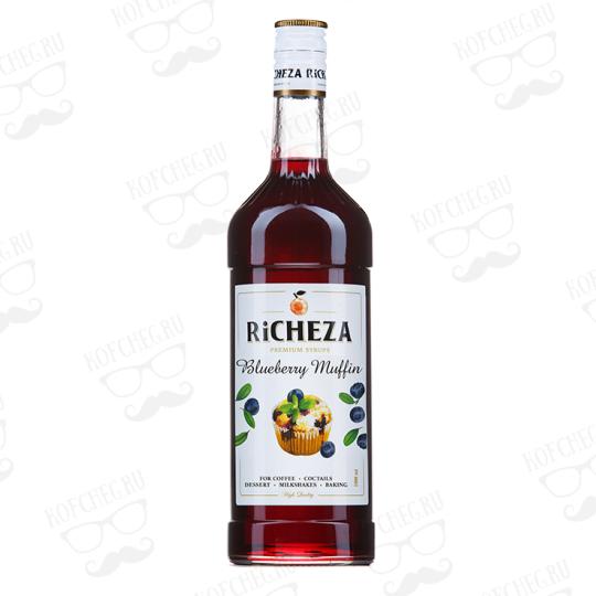 Сироп Черничный Маффин Richeza 1 л.