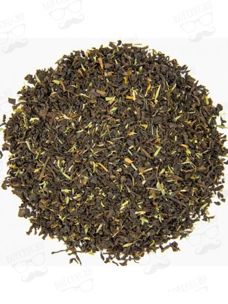 С чабрецом Чай на основе черного