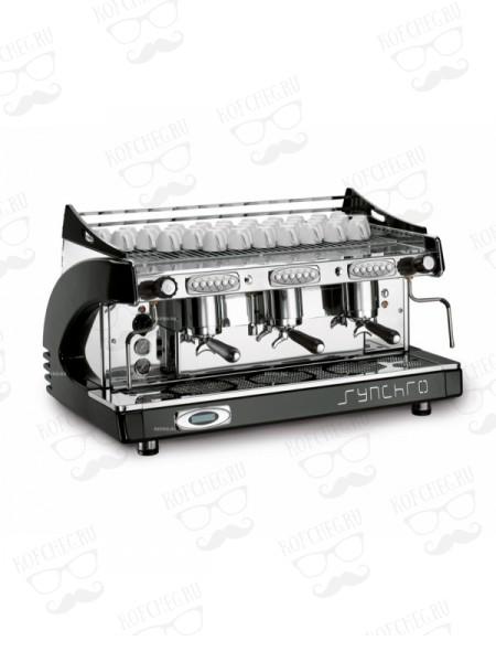 Профессиональная кофемашина Royal Synchro P4 3GR-A 21LT