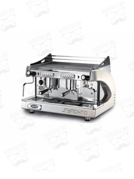Профессиональная кофемашина Royal Synchro P4 2GR-A 11LT