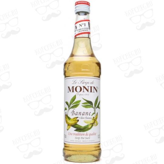 Сироп Monin Желтый банан, стекло, 1л
