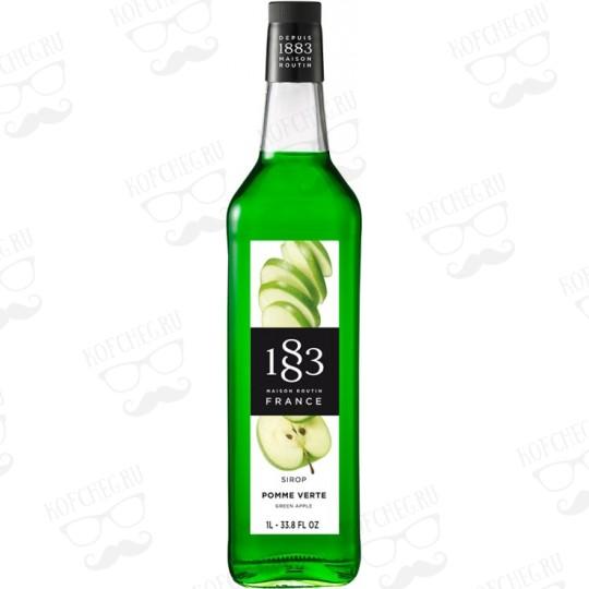 Сироп Routin 1883 Зеленое яблоко, 1л