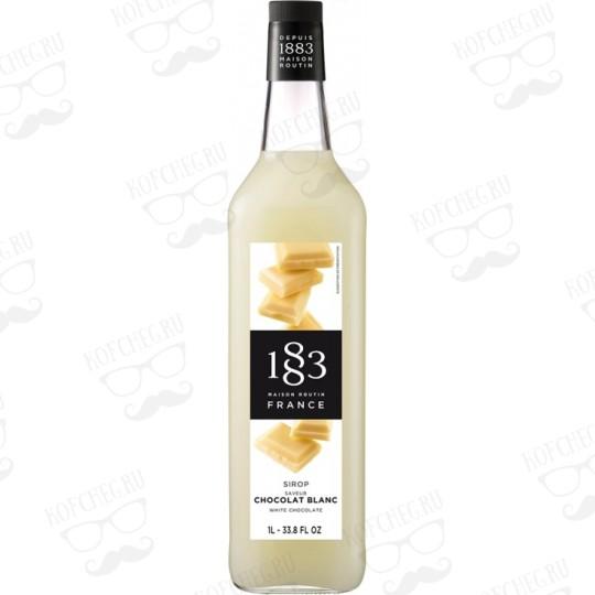 Сироп Routin 1883 Белый шоколад, 1л