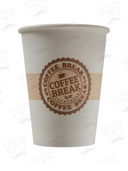 Стакан бумажный одноразовый 300 мл. COFFEE BREAK