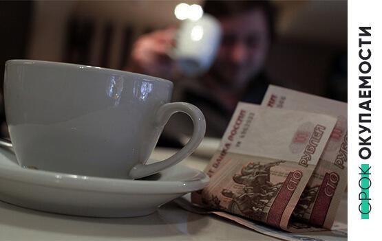 Инвестиции, необходимые для открытия точки «Кофе с собой»